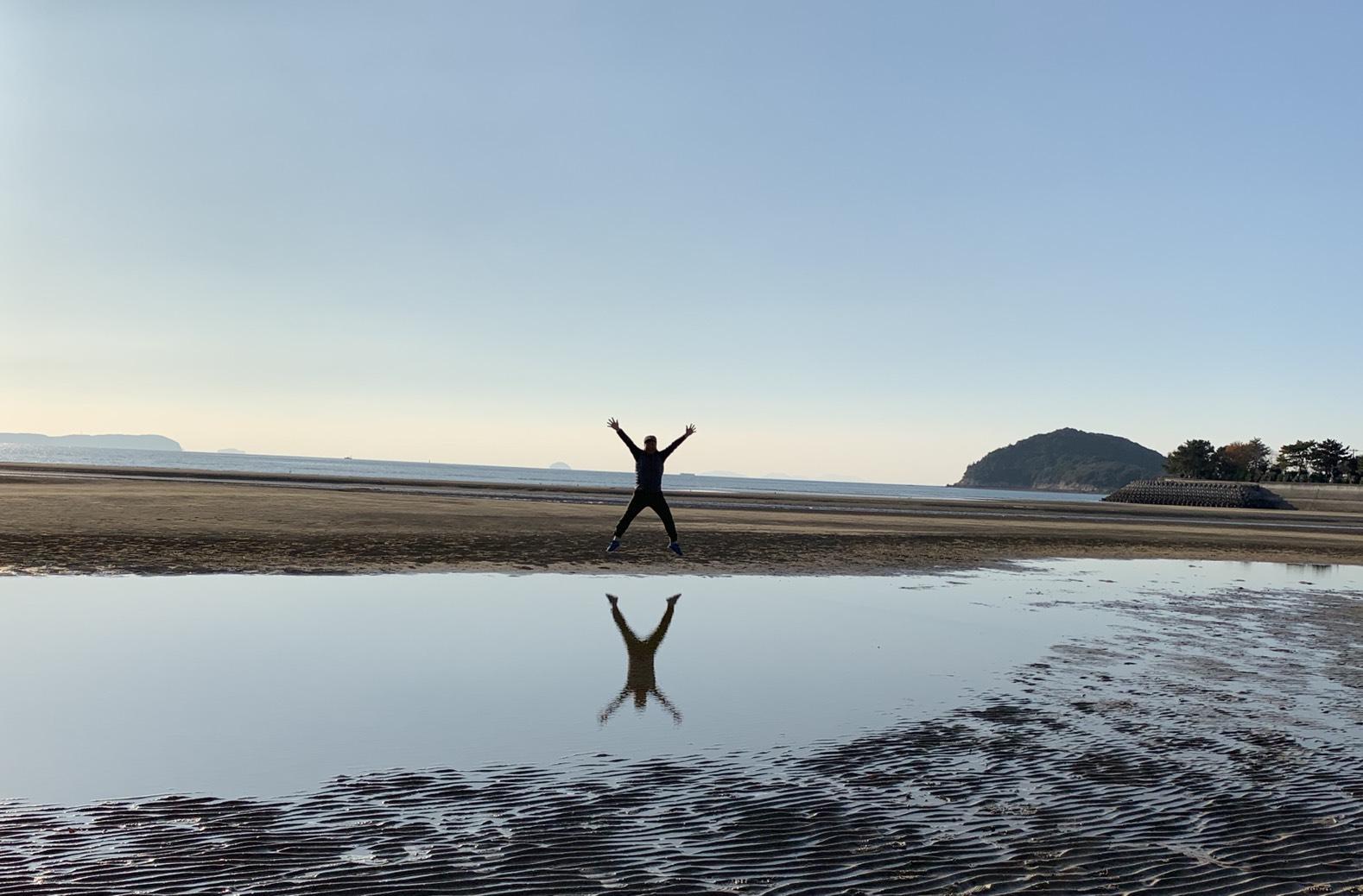 日本のウユニ塩湖で飛んでみた!